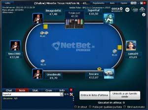 Netbet Poker italiano Cash